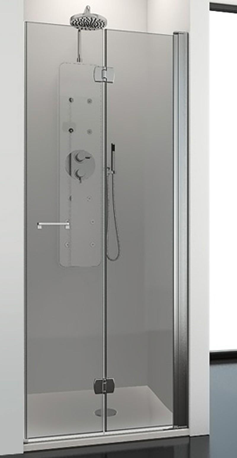 Mamparas abatibles para ducha free serie chloe abatibles - Precios mamparas profiltek ...