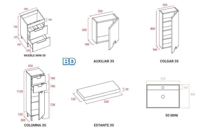 muebles de baño torvisco - Ítem6