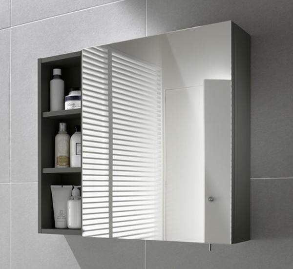 Te explicamos los armarios con espejo ba o decoraci n - Armario de bano con espejo y luz ...