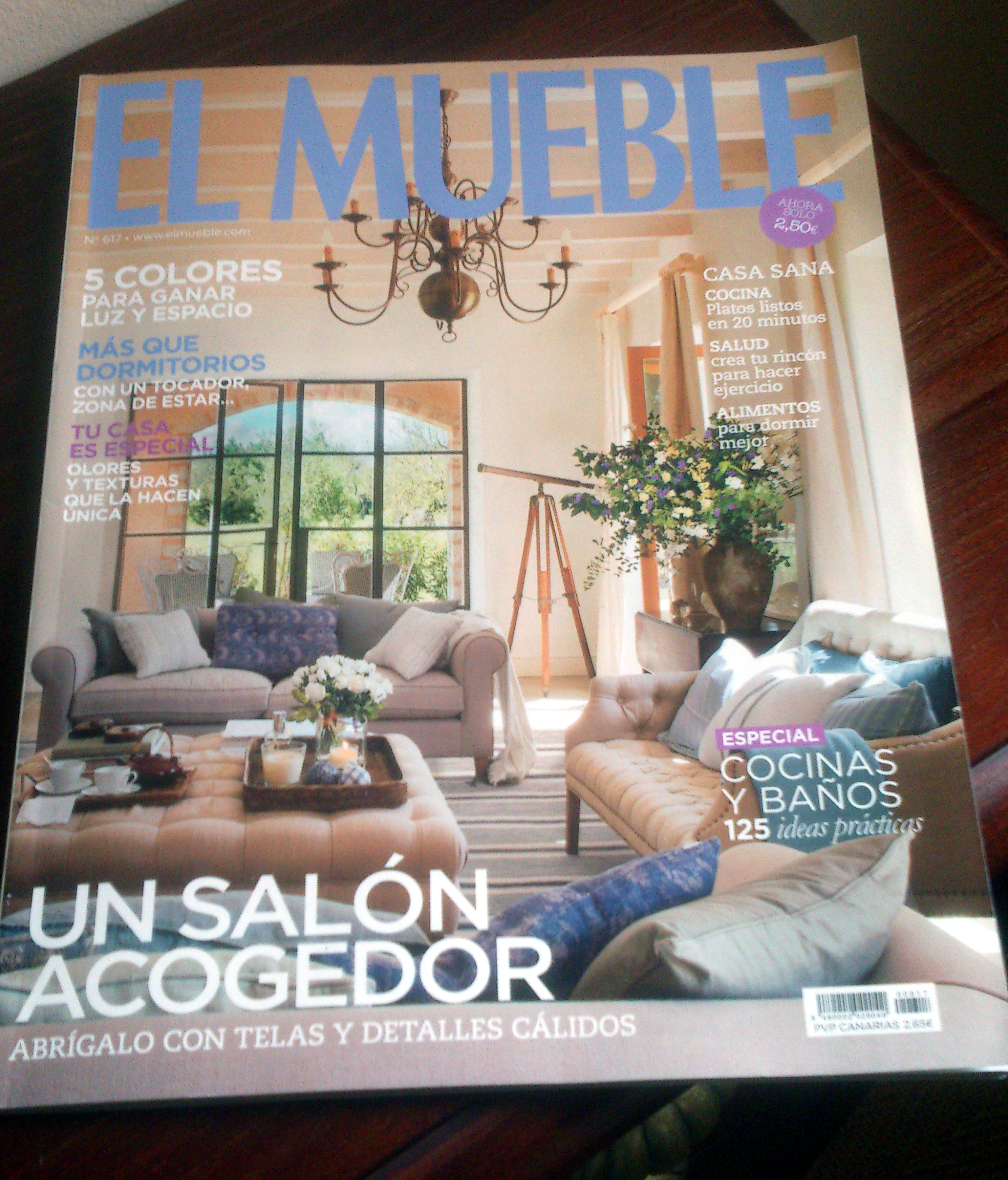 Ba o decoraci n y la revista el mueble n 617 ba o decoraci n for Revista el mueble banos