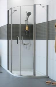 mampara circular ducha