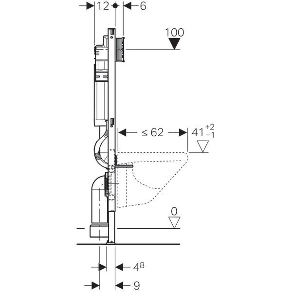 Duofix Sigma 12 Geberit - Ítem2