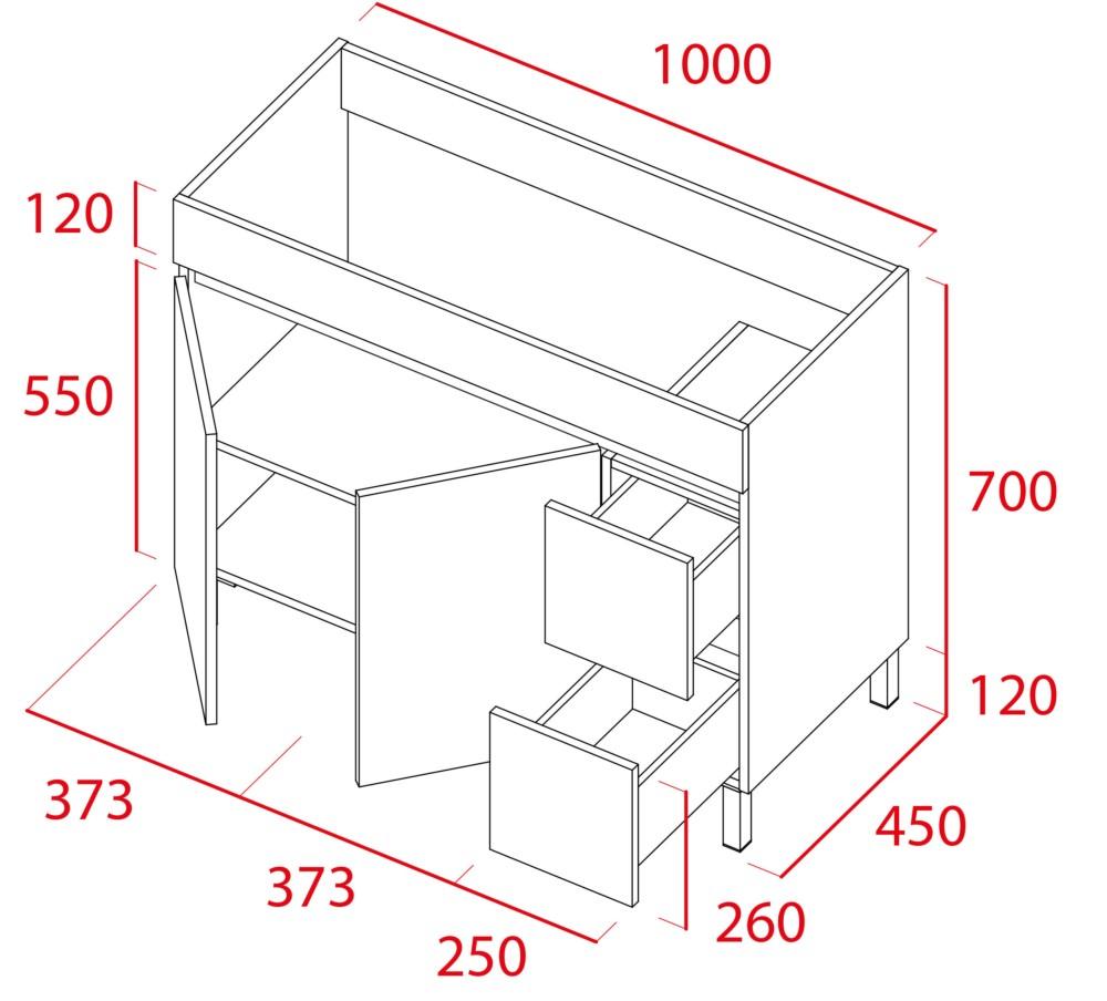 Mueble de baño Sil de Torvisco - Ítem3
