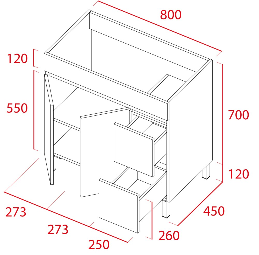 Mueble de baño Sil de Torvisco - Ítem2