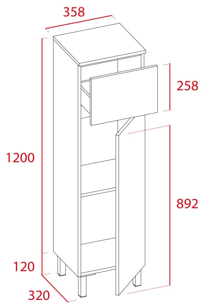 Mueble de baño Sil de Torvisco - Ítem7