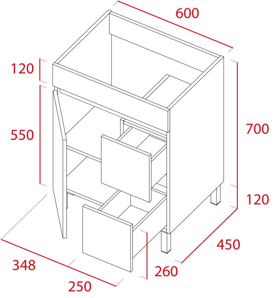 Mueble de baño Sil de Torvisco - Ítem1