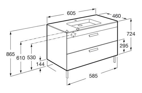 mueble de baño Roca - Ítem5