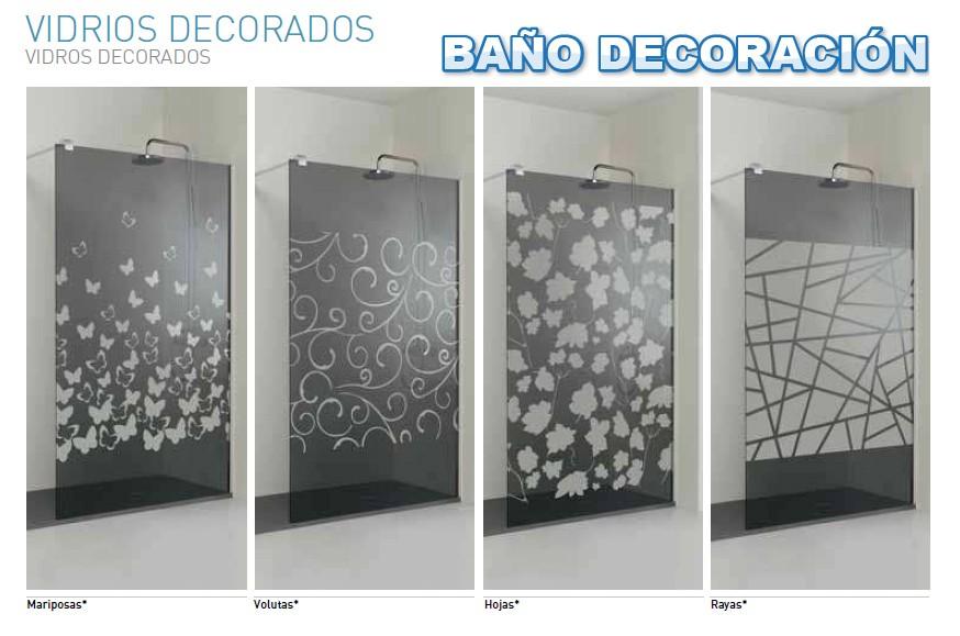 Mamparas Para Bau00f1o Acrilicos Decorados:Mampara ducha arcoiris plus ...