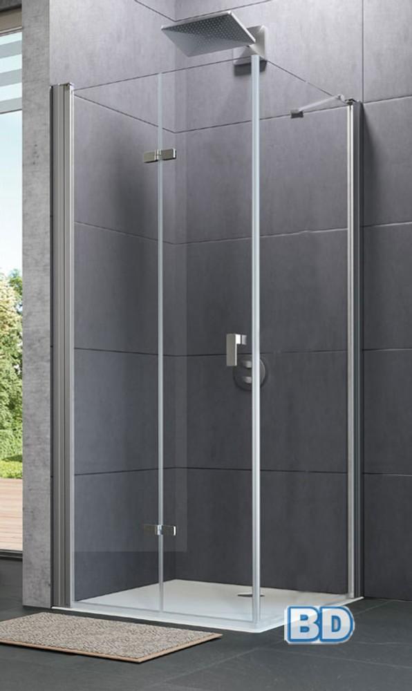 Mampara de ducha plegable design huppe ba o decoraci n - Mampara plegable ducha ...