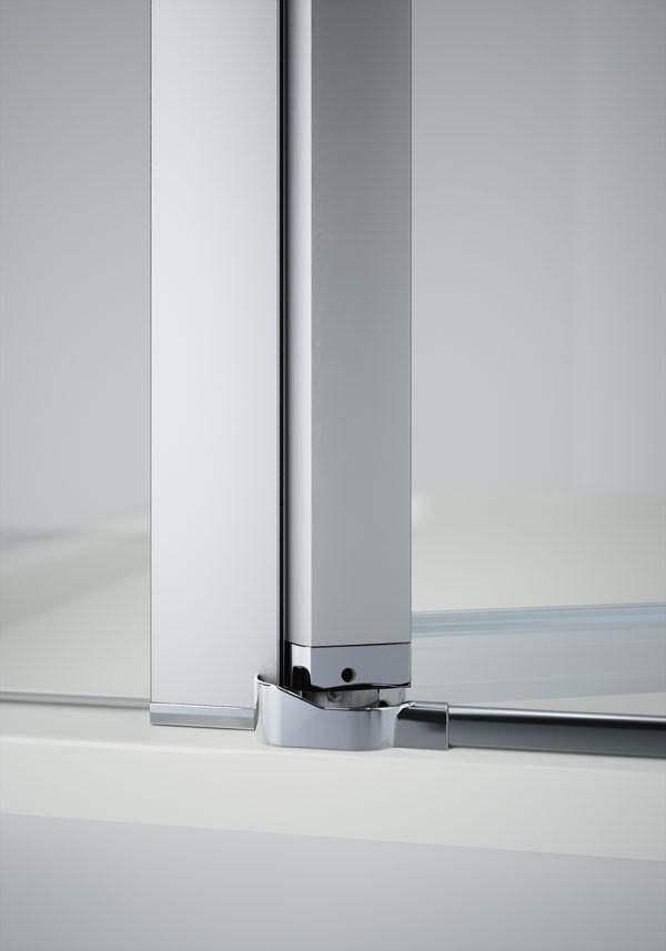 Baño Minusvalidos Puerta Corredera:Mampara Design 2 puertas abatibles de Hüppe