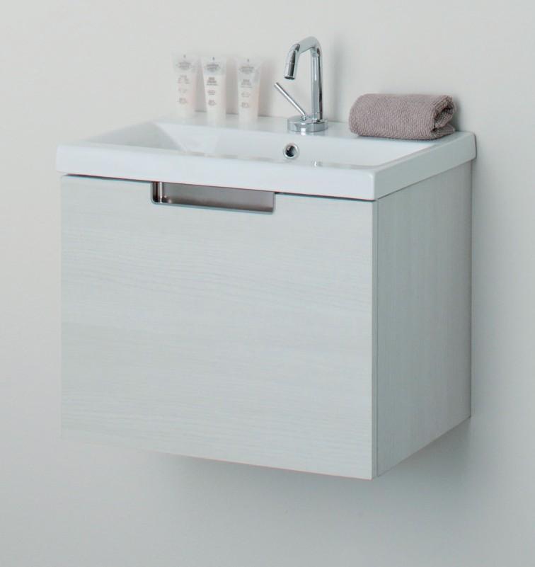 Mueble de ba o evora 1 caj n madero ba o decoraci n for Mueble lavabo 50 ancho