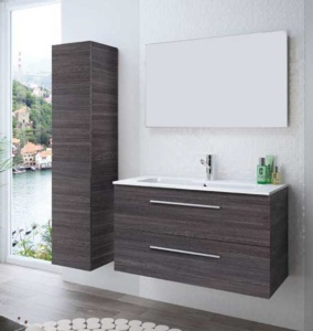 mueble fussion chrome