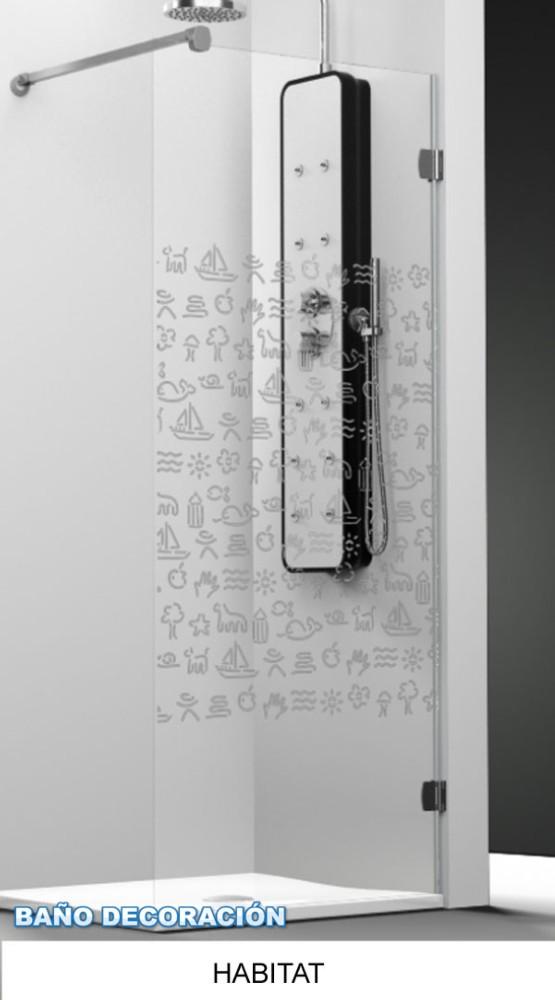 Mampara arcoiris plus profiltek decoracion ba os for Cuelga toallas bano