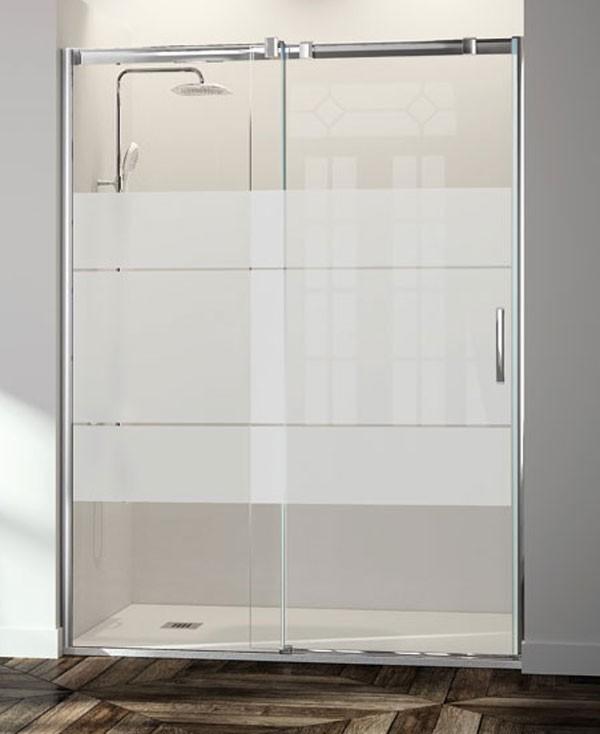 Baño Minusvalidos Puerta Corredera: inferior con liberación de las puertas para una cómoda limpieza