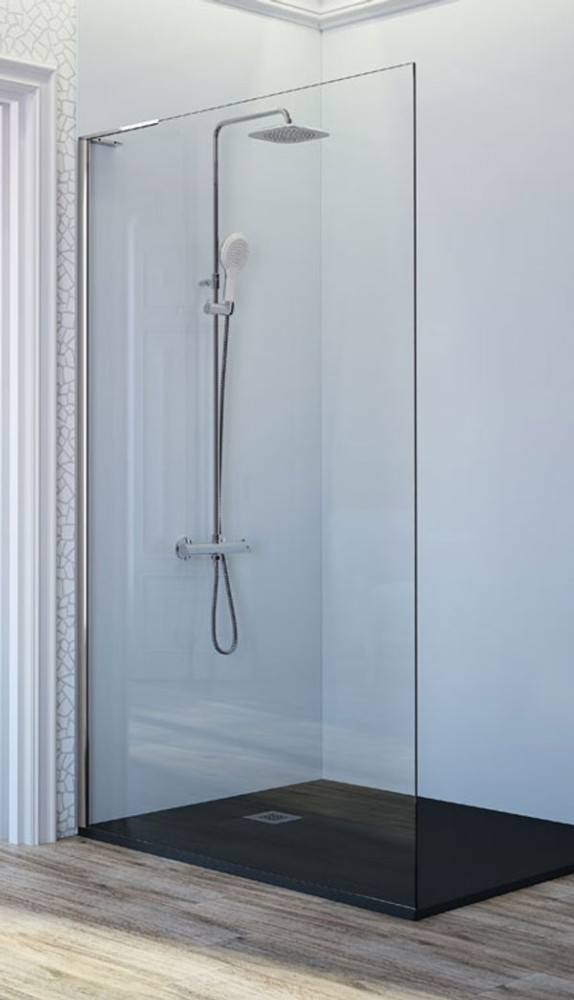Mampara de ducha fija fr703 de kassandra ba o decoraci n - Platos de ducha con mampara ...