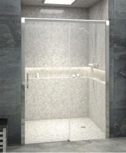 Mamparas de ducha frontal entre paredes ba o decoraci n for Mamparas velvet recambios