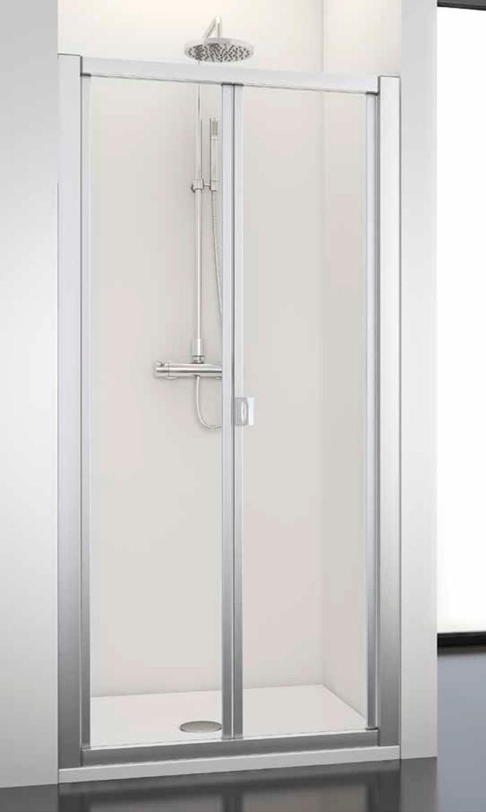 Mampara ducha plegable profiltek decoracion ba os - Mamparas ducha plegables ...