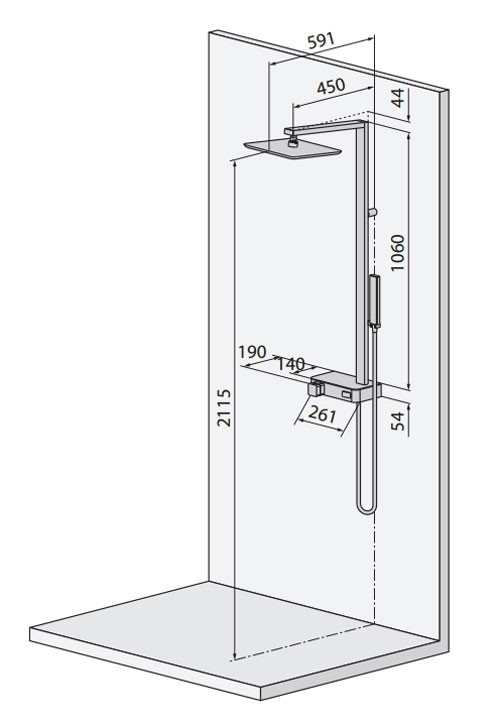 columnas de ducha - Ítem2