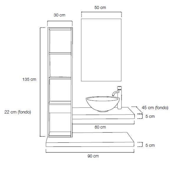 muebles de baño modernos - Ítem1