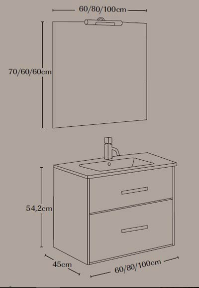 Mueble de baño Coimbra - Ítem4