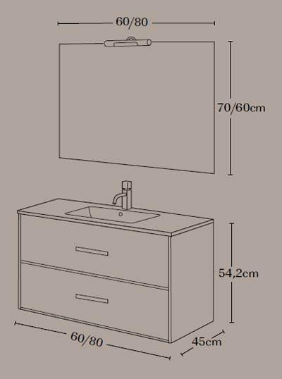 Mueble de baño Coimbra - Ítem5