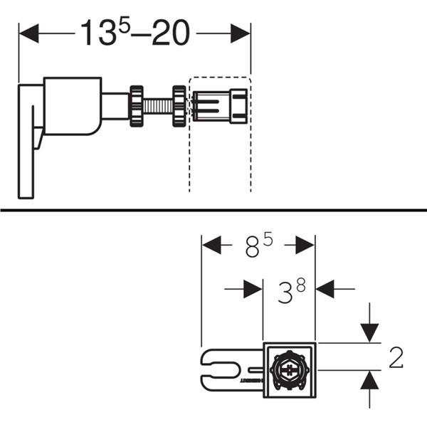 Duofix Sigma 12 Geberit - Ítem3