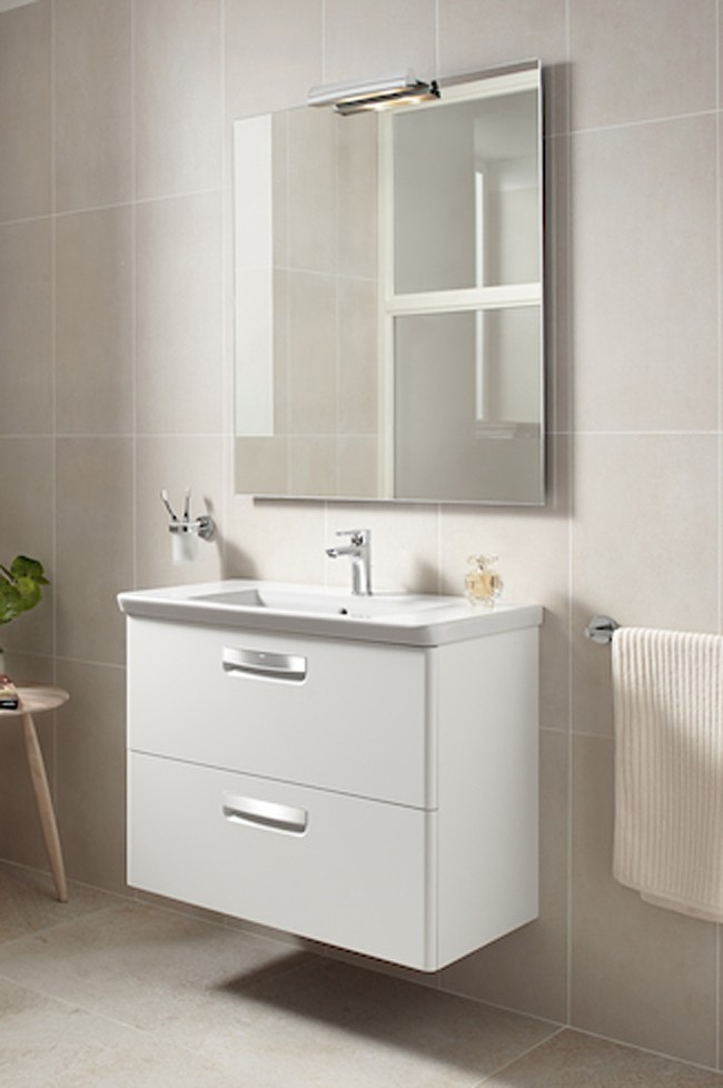 Mueble pack the gap roca muebles roca ba o decoraci n for Mueble de lavabo con pie