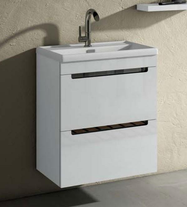 Mueble de ba o loa de torvisco for Mueble lavabo 50 ancho