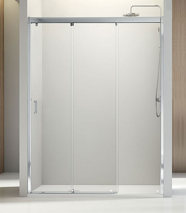 Baño Minusvalidos Puerta Corredera: de ducha Nell 1 fijo + 2 correderas – Profiltek