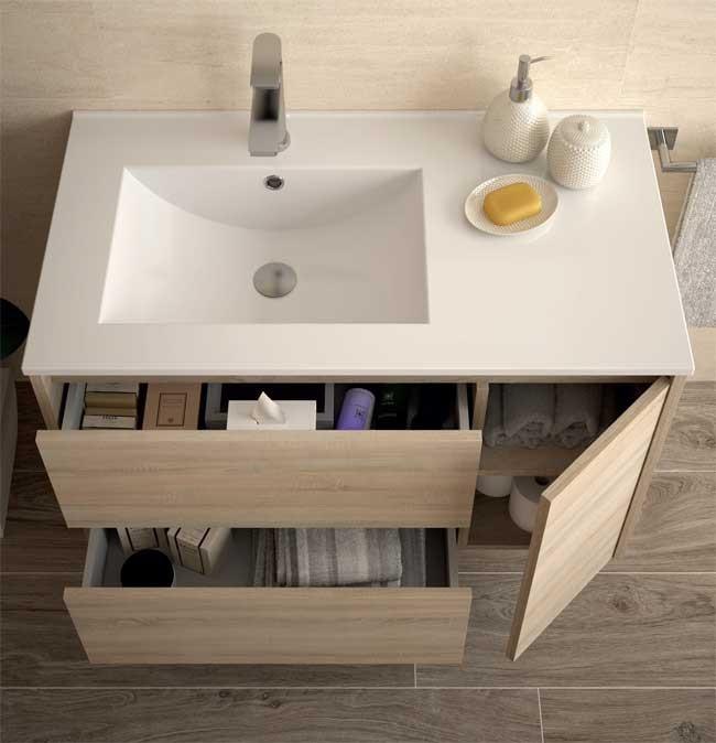 Lavabo y mueble noja 855 salgar ba o decoraci n for Mueble lavabo 50 ancho