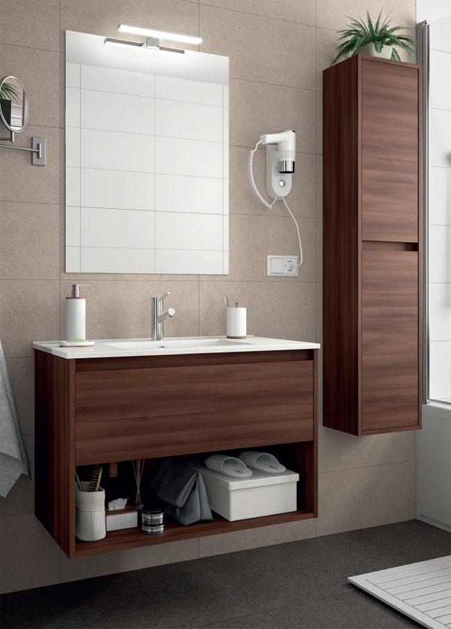 Noja Salgar con hueco - Mueble de baño
