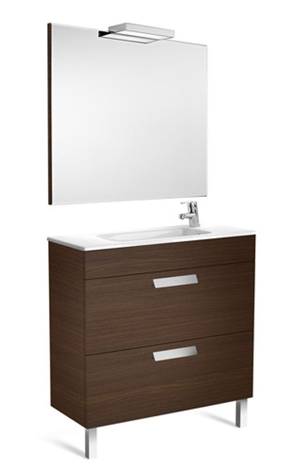 Mueble ba o pack debba 2 cajones roca ba o decoraci n for Lavabo fondo reducido