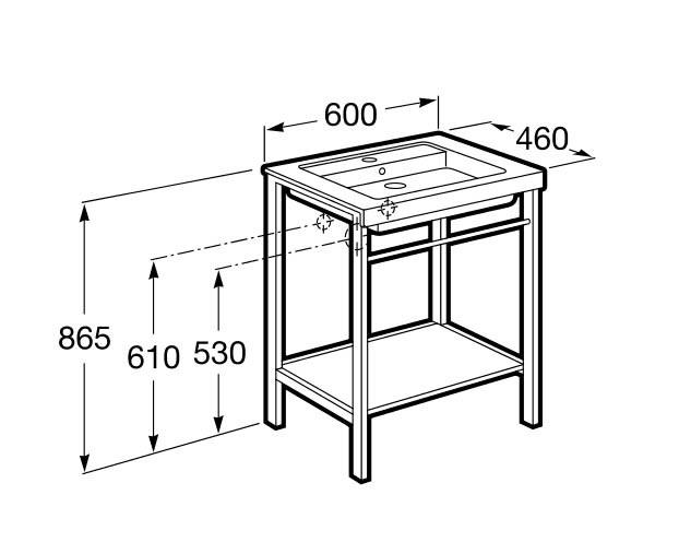 Mueble de baño Prisma - Ítem1