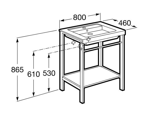 Mueble de baño Prisma - Ítem2