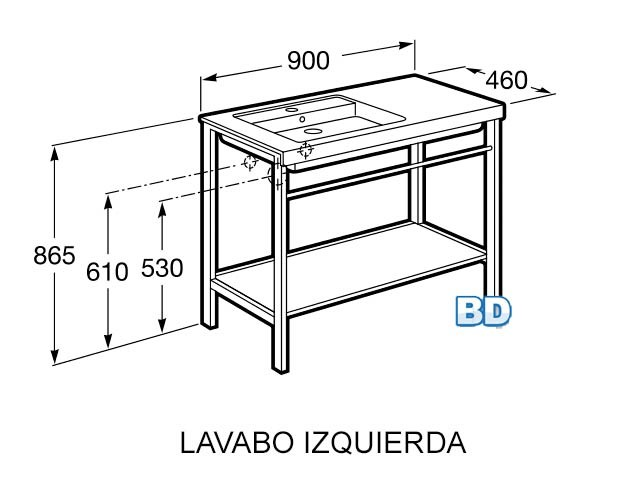 Mueble de baño Prisma - Ítem4