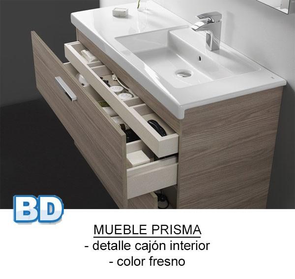 Mueble de ba o pack prisma 1 caj n roca ba o decoraci n for Distribuidor roca barcelona