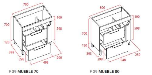 muebles de baño - Ítem1