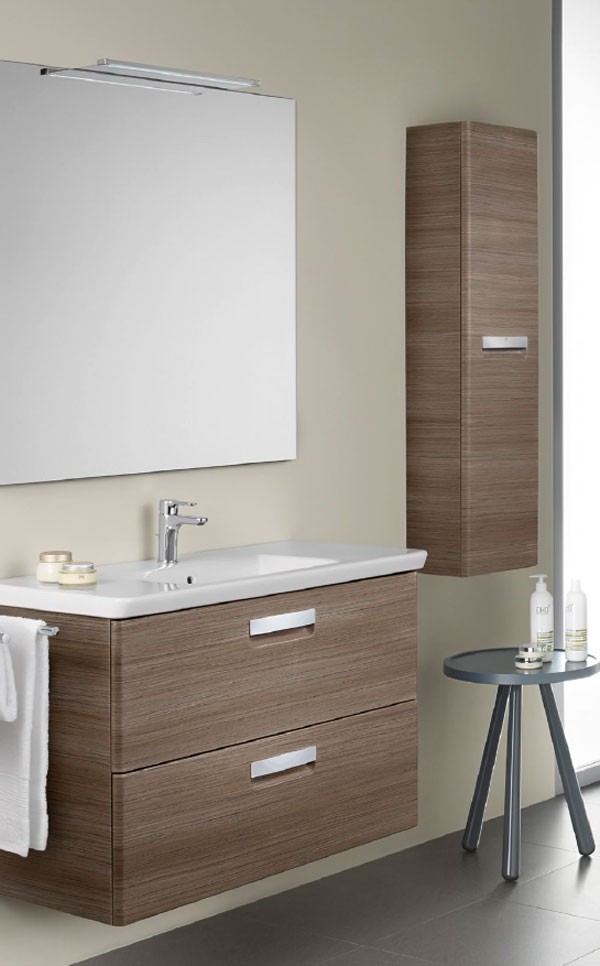 Mueble unik the gap roca ba o decoraci n - Mueble para lavabo con pie ...