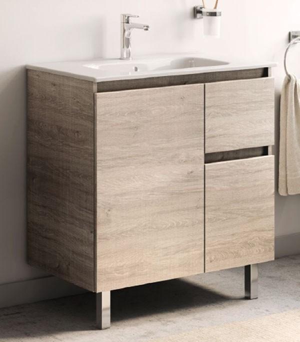 baño Mueble y lavabo ancho 60 cm Mueble de baño Unik Anima de Roc