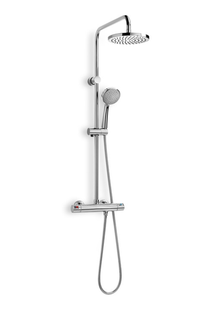 Griferia Para Ducha Roca: columna de baño, columna victoria-t de Roca, columnas de ducha Roca