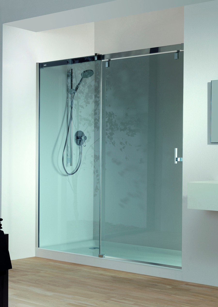 mampara de ducha vista huppe. Black Bedroom Furniture Sets. Home Design Ideas