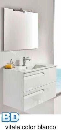 Mueble y lavabo Vitale 120 cm de Bannio - Ítem1