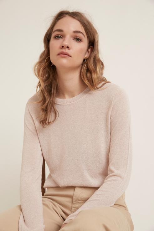 lurex thread sweater