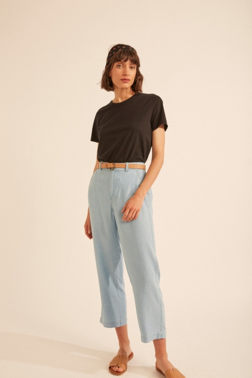 loose culotte trousers