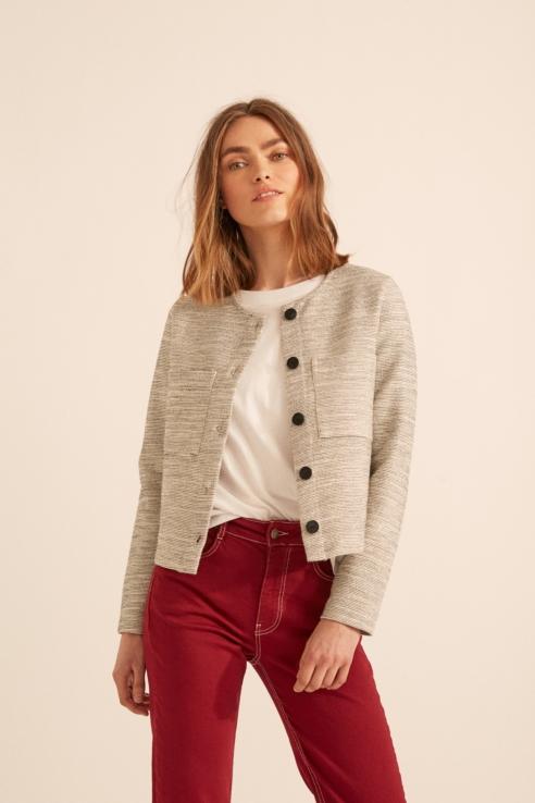short chanel jacket