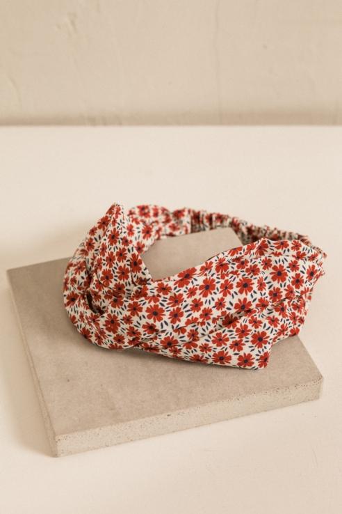 bandana estampado floral