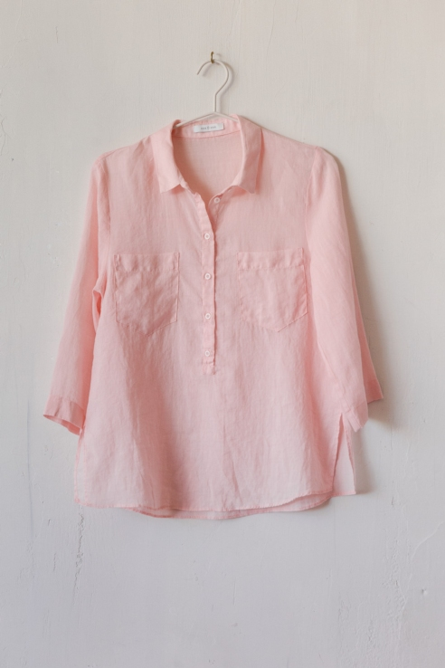 camisa ramio rosa