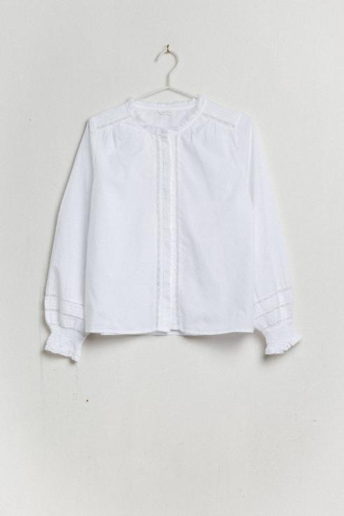 camisa estilo victoriano
