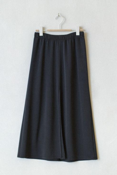 falda larga abertura frontal