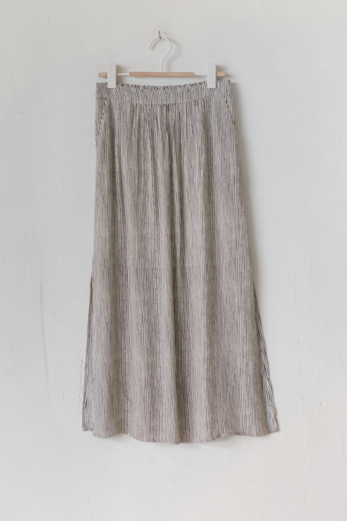 falda estampado rayas verticales